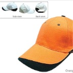 CGW-Heavy-Brush-Cotton-Cap-Orange_Black-K3001-35