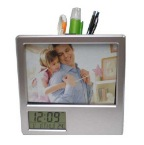 Photoframe-w-clock-&-pen-holder-NM8195-76