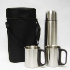 500ml-Stainless-Steel-Vacuum-Flask-w-2pcs-cups-&-black-pouch-NVF106-156