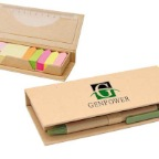 Eco-Desktop-Sticky-Notes-set-w-Recycled-Paper-Pen-ES77-53