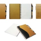 Eco-Friendly-Recycle-A5-NoteBook-W-Pen-Ruler-Markings-G9-30