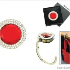 Bag-Hanger-Red-Round-Jewel-K0813-95